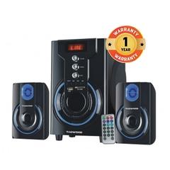 TAGWOOD MP-42A MULTIMEDIA SPEAKER SYSTEM WITH BLUETOOTH, FM RADIO BLACK black 29w+15w*2 42A