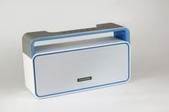 TAGWOOD MP-25 Mini Wireless Portable Bluetooth Speaker With FM Radio WHITE  500W WHITE 500W mp-25