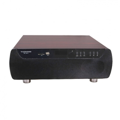 MP-8512 Home Cinema 2.1 Home Mini Theater System Bluetooth Speaker Subwoofer . Fully Wooden BROWN 8000W MP-8512