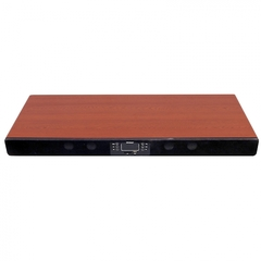MP-8521 Home Cinema 2.2 all in one sound base for television Bluetooth Speaker Subwoofer Brown brown 12000 MP-8521