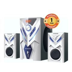 MP-2044 multimedia speaker System 2.1 with Bluetooth FM Radio WHITE 7000W white 7000W MP-2044