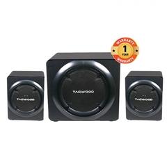 MP-8117 High End Hi-Fi Multimedia 2.1 Subwoofer With Bluetooth & FM Radio RMS 50W. black 12000W MP-8117