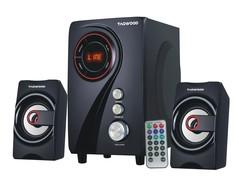 TAGWOOD MP-2155  Multimedia Speaker System 2.1 with Bluetooth,FM Radio Black PMPO: 5500W black 5500w MP-2155