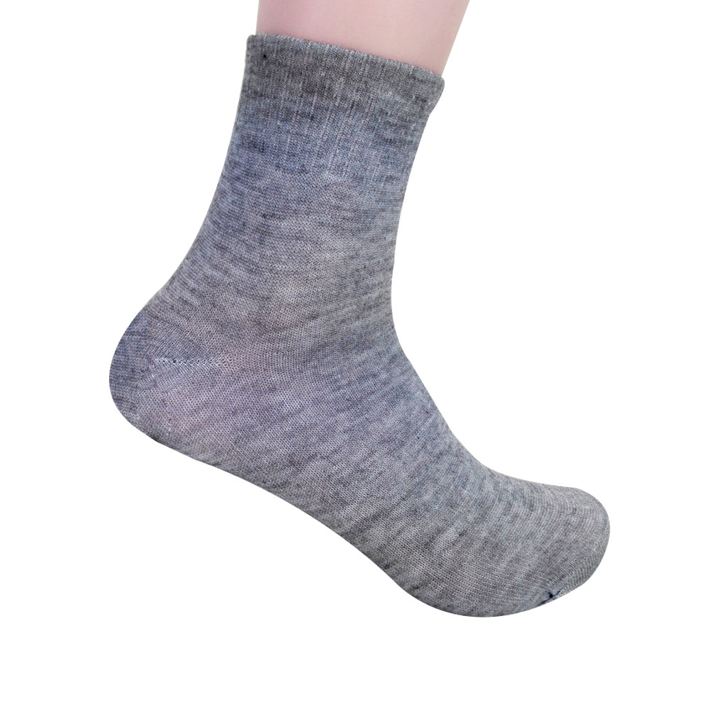 MAX High Quality Mens Business Cotton Socks Casual Gray Black Hot Sale  Comfortable Short socks Random as picture
