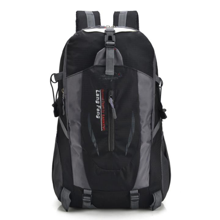 Men masculina Waterproof Back Pack Designer Backpacks Male High Quality  Unisex Nylon bags Travel bag black fd59b1551fae3