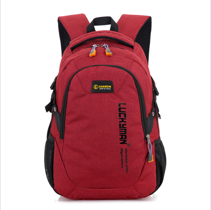 1493960dde74 New Fashion Men s Backpack Laptop Backpack Computer Bags high school  student college students bag red 20