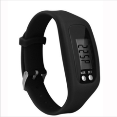 Long-life battery MultifunctionDigital LCD Pedometer Run Step Calorie Walking Distance Counter black approx. 4.5 x 3.4 x 2.2cm