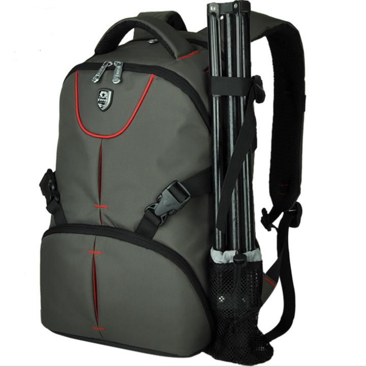 Shoulder photography backpack waterproof computer bag professional SLR camera  backpack armygreen 20-35 litre 04410d1e741bd