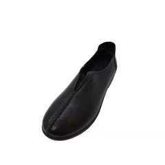 New Fashion 1 Pairs The Cow Leather Size 35-40 Super Soft Comfortable Women's Casual Flat Shoes Black 35