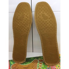 Cotton Insole Sweat-absorbent And Deodorization Men Insoles Brown 42