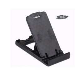 Folding Type Of Four  Specifications Adjustable Mobile Phone Bracket black one size