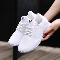 Lovers Shoes New Fashion Men's Casual Sports Shoes Outdoor Lightweight Breathable Running Shoes white 39