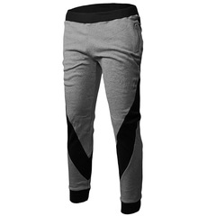 Fashion Men Sports Trouser Assorted Colors Comfortable Casual Outdoor Pant gray m