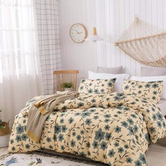 3 PCS Bedding Sets (1 Bed cover+2 Pillow covers) Graceful Fashion Modern Stylish Printing 01 us twin