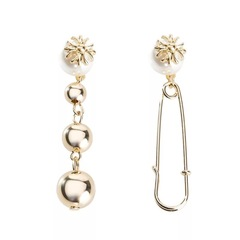 Hot Sell Fashion Graceful Pearl Earrings Women's Fashion Jewelry Gift as picture as picture