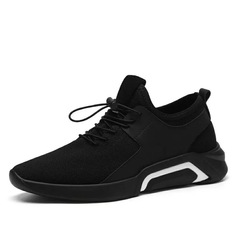 Ins Hot Sell New Fashion Men's Casual Sports Shoes Outdoor Lightweight Breathable Running Shoes black01 39