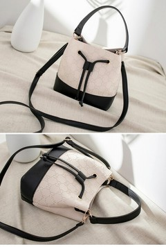 2019 New One-shoulder Bag Trend Ladies Crossbody Bags Casual Bucket Bag black one size