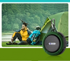 Mobile Phone Waterproof Bluetooth Speaker Wireless Bluetooth Outdoor Sports Mini Portable Stereo green one size