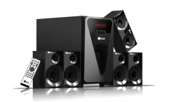 G815 GLD 5.1 Multimedia speaker systems black