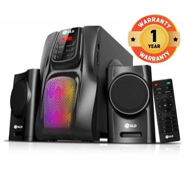G827 GLD 2.1  Multimedia speaker systems black 40W G827