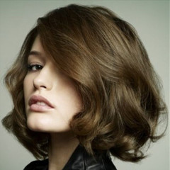 Fashion high temperature silk wigs short curly hair picture color long