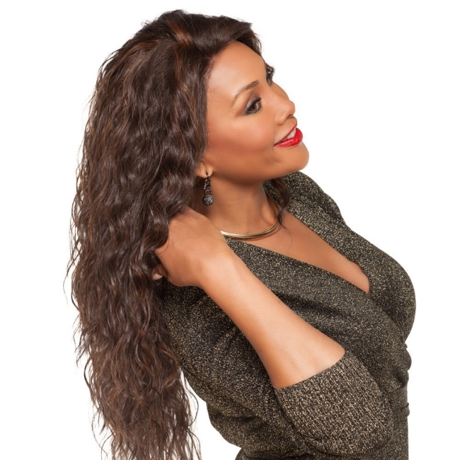Limit Promotion Fast Delivery Synthetic Wig African Fashion Wig, Long Curly Hair, Headgear Wig black long