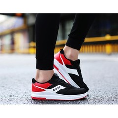 New promotion in 2019 lower price autumn men's heighten sports shoes red 39