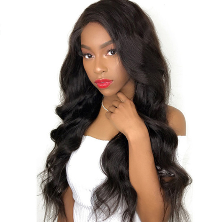 Limit promotion 3 days Synthetic Wigs High Quality Fashion Hair Wigs Women Wigs Big Waves Long Curls dark brown long