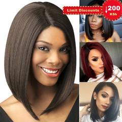 Limit promotion 3days Synthetic Wigs Bob Haircut Women Hair Wigs Women's Short Wigs black short