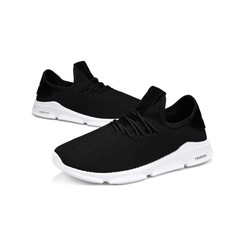 Promotion Limited Purchase Fashion Men's Leisure Sports Shoes Comfortable Breathable Running Shoes black 39