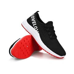 New Discount 2019 Crazy Price Spring Summer Male Brand Mesh Shoes Men Sneakers black + white 39