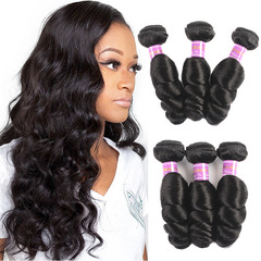 Crazy 3 hours lower price fashion ladies human curly hairs real hair black 10 inch
