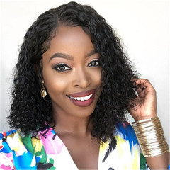 African New Fashion Hot Selling Ladies Curly Hair Wig High Temperature Silk Wigs as picture long