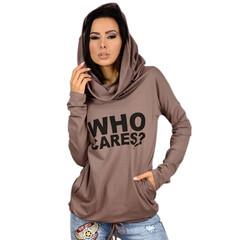 Womens dress A  monogrammed thin knit hoodie T-shirt for womens wear fleece coat jacket khaki s