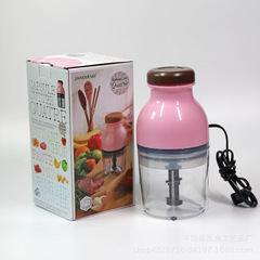 Household Multi-function Electric Baby Food Processor Juicing Machine Kitchen Meat Grinder Juicer pink one size