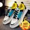 Fashion Movement Shoes comfortable coconut men's shoes joint  yellow 42