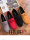 Summer Style Soft Moccasins Men Loafers High Quality Genuine Leather Shoes Men Flats  Driving Shoes black 43