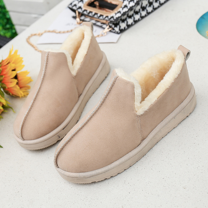 fe1f9a0a0 Women Flats Woman Loafers Candy Color Slip on Flat Shoes Ballet Flats  Comfortable Ladies shoes cream