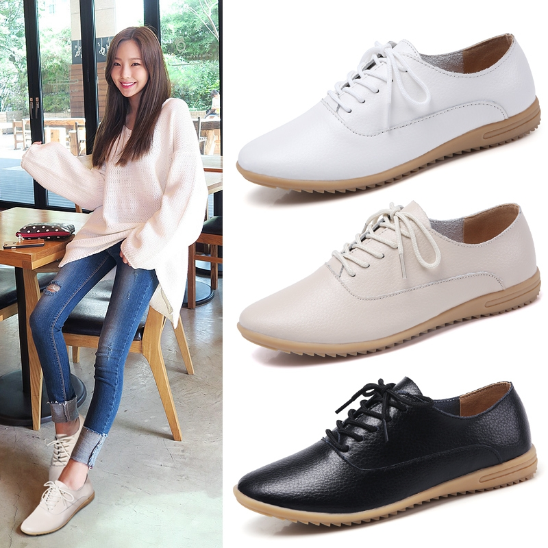1aea27be248b Summer Flat Shoes Women Lace Up Pointed Toe Daily Casual Shoes Ladies Flats  Black Red Plus Size cream-coloured 35  Product No  9859252. Item specifics  ...
