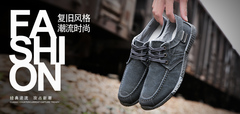 Canvas Men Shoes Denim Lace-Up Men Casual Shoes New 2019 Breathable Male Footwear Men Casual Sneaker black 41