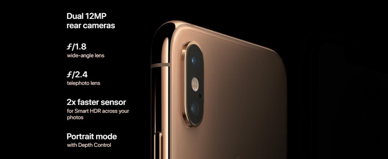 Apple iPhone XS 64GB space grey 6