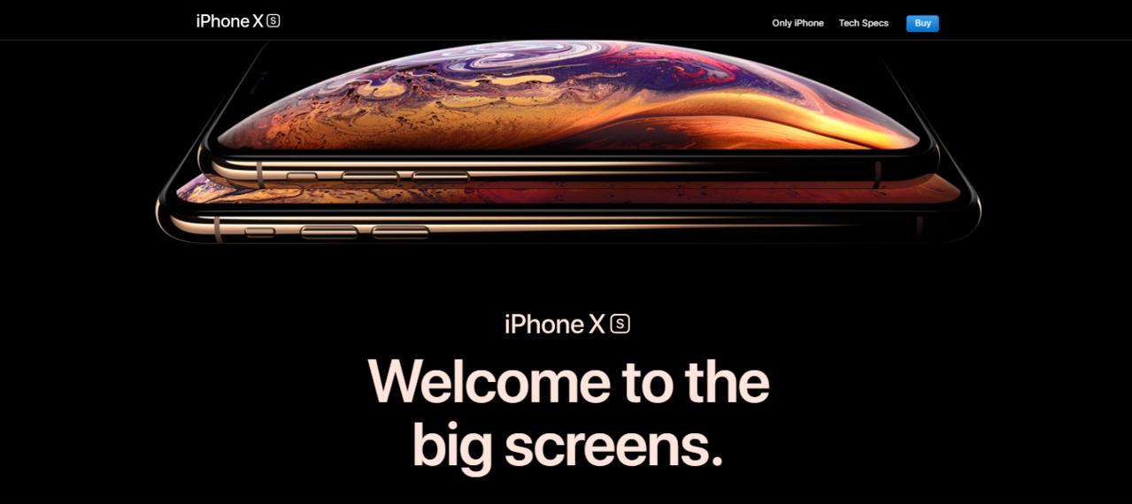Apple iPhone XS 64GB space grey 1