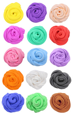 Light Clay Air Dry Polymer Plasticine Modelling Clay Super Light DIY Soft Creative chirsmas gift Toy 12color one size