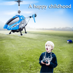 Mini Helicopter Micro Drone luminous LED flying Induction aircraft for children Chirstmas Gift &toys blue one size