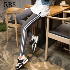 RBS 2019 New product promotion lowest price high quality women pencil pants ladies Trousers Waist blue xl