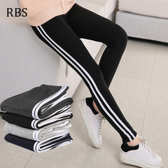 RBS 2019 New product promotion lowest price high quality women pencil pants ladies Trousers Waist black l