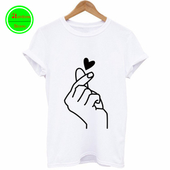 RBS New promotion Crazy Purchase High quality Printed Couple wear lovely Men Women T-shirts tops white big s
