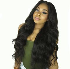 Bigwavylongcurlywigs SyntheticWig NewFashionHair WomenWigs HairWigs black one size