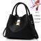 Fashion Handbags for Ladies PU Leather High Quality Handbags for Women black 29cm by 13cm by 23cm
