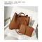 LARAINE Brand Tote PU Leather Women Bags Handbags for Ladies Large  Handbags Single Shoulder Bag brown 34.5cm by 13cm by 28cm